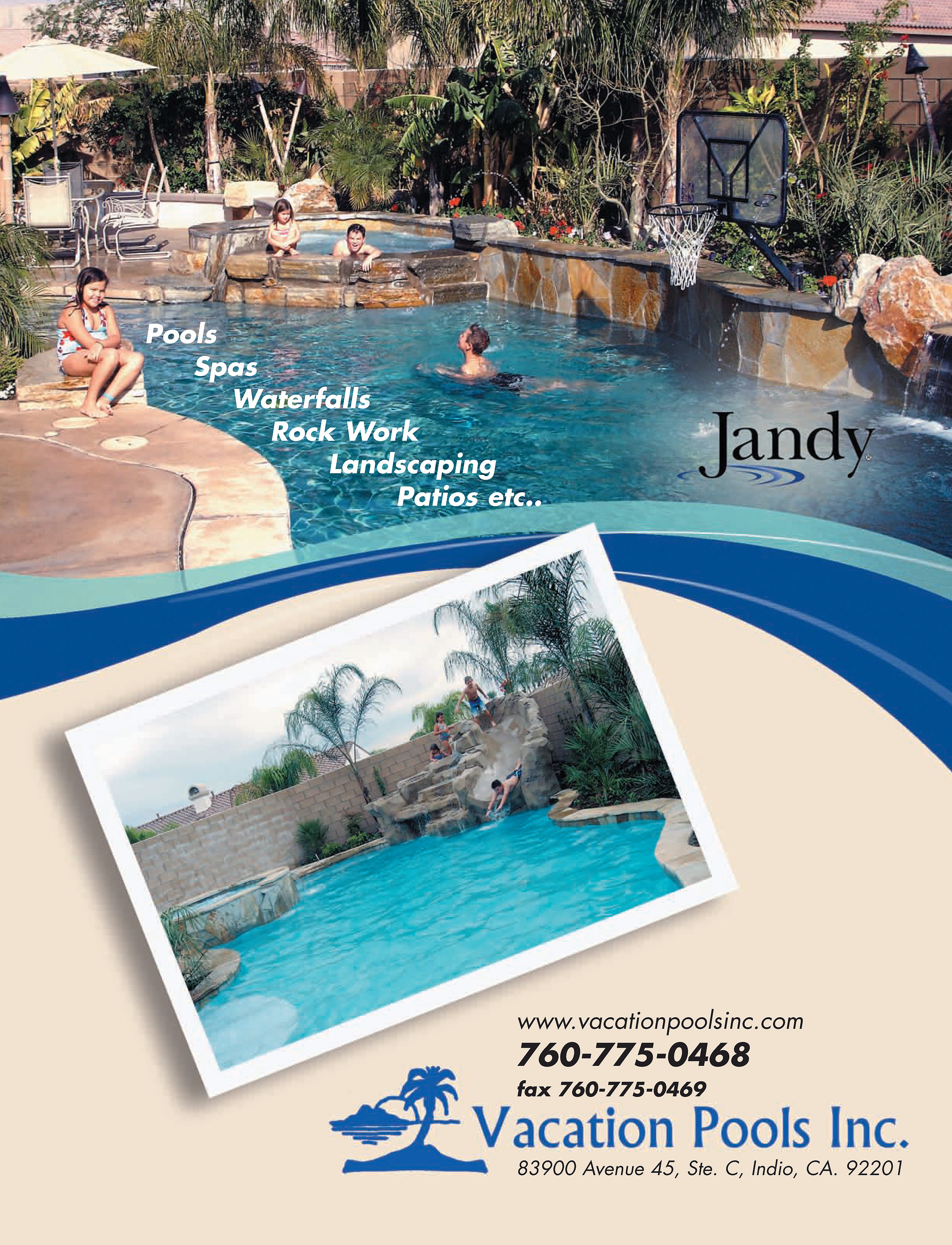 Swimming Pools Indio CA | Hot Tubs, Spas, Pools Palm Springs CA